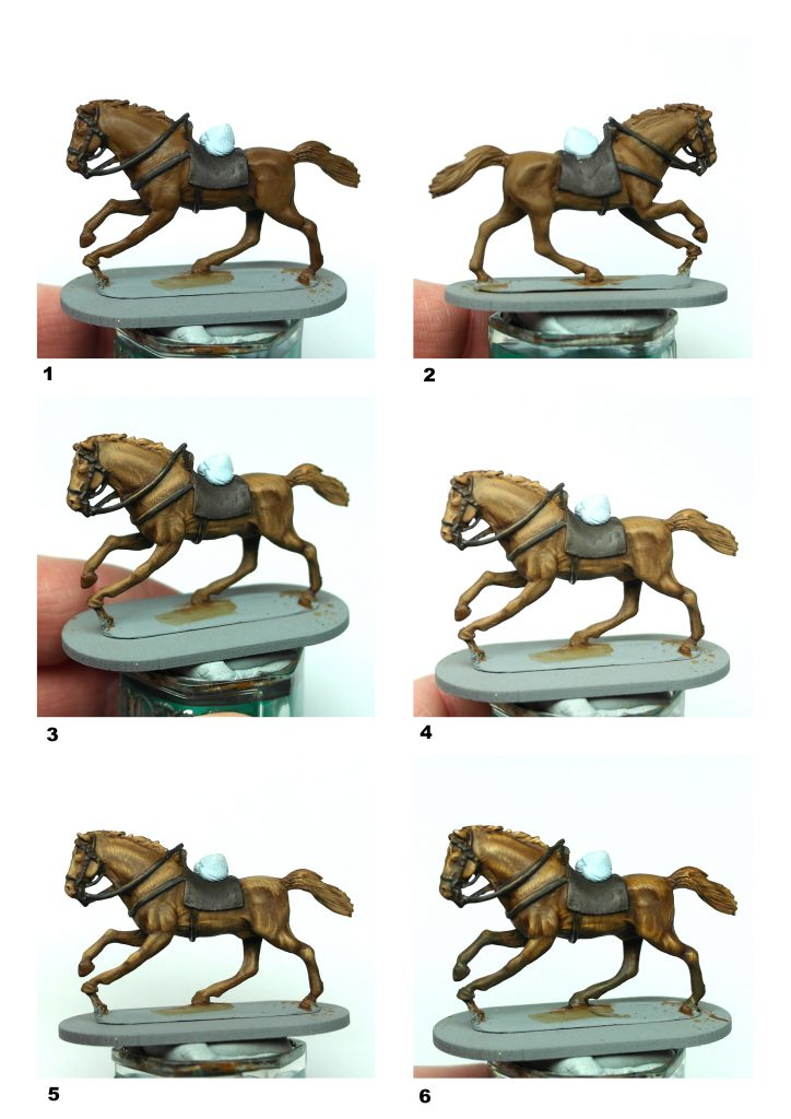 Darren Linington S Guide To Painting Horses Sculpting Painting And Gaming