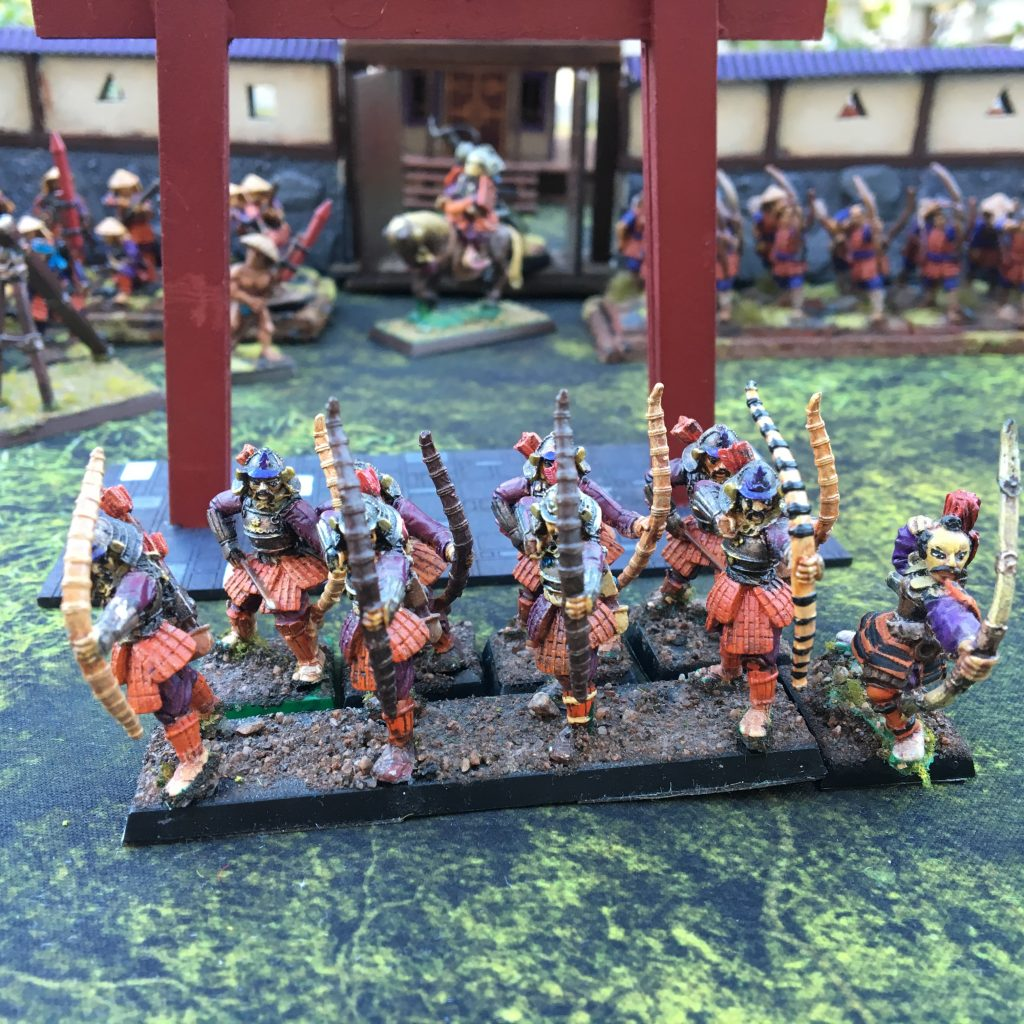 Minis by Clan War and Dixon Miniatures