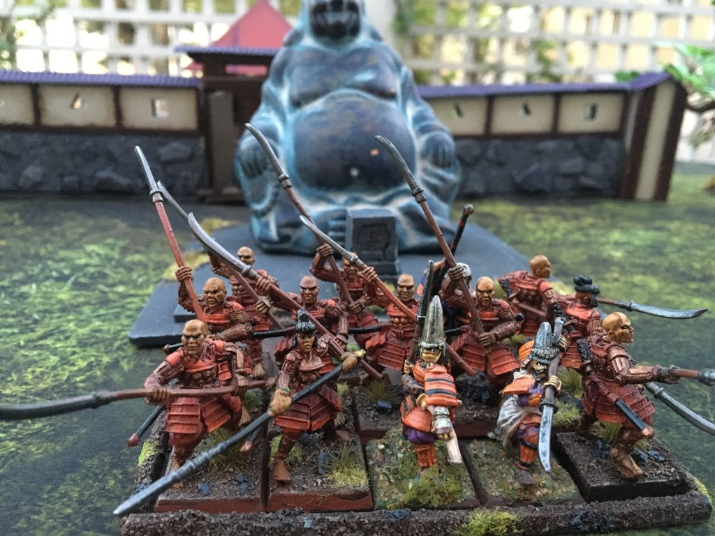 Miniatures by Clan War and Dixon