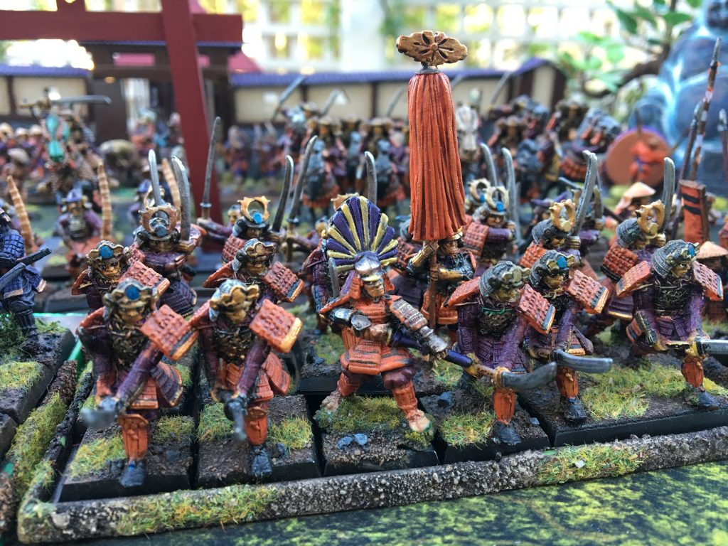 Miniatures by Clan War, officer by Dixon Miniatures