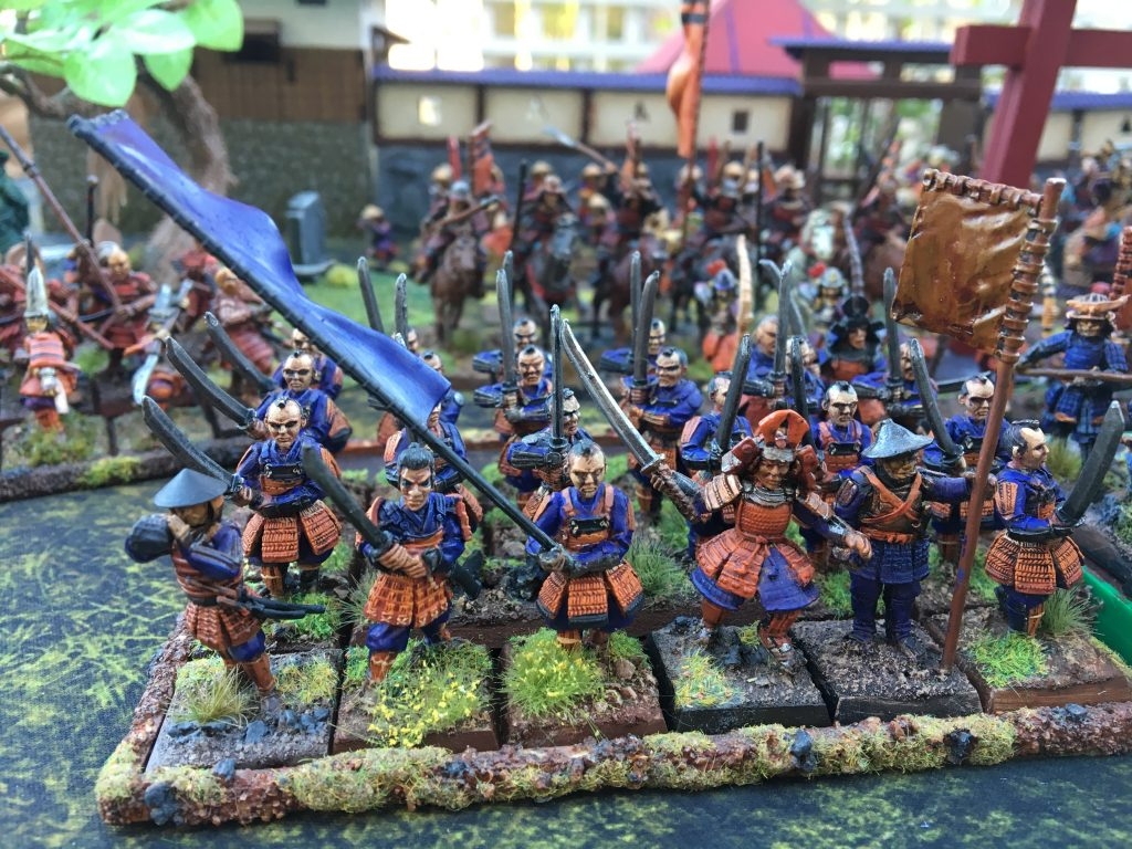 Miniatures by Clan War, Perry Miniatures and Wargames Factory