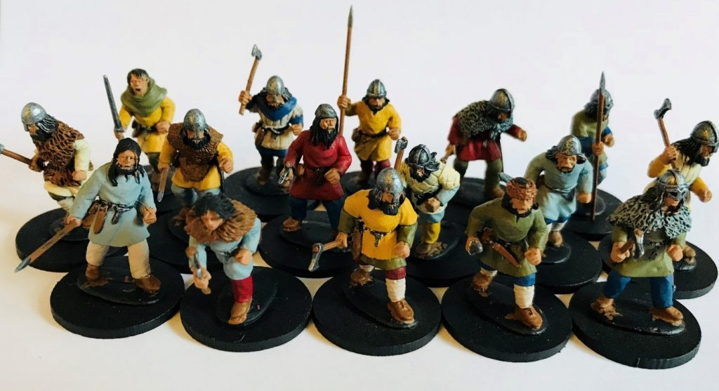 Army in a Week: Carl Marsden Paints his Saga Vikings in Less